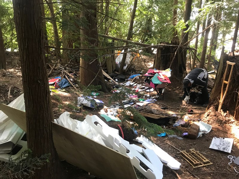 Illegal camping costs Powell River Regional Hospital District