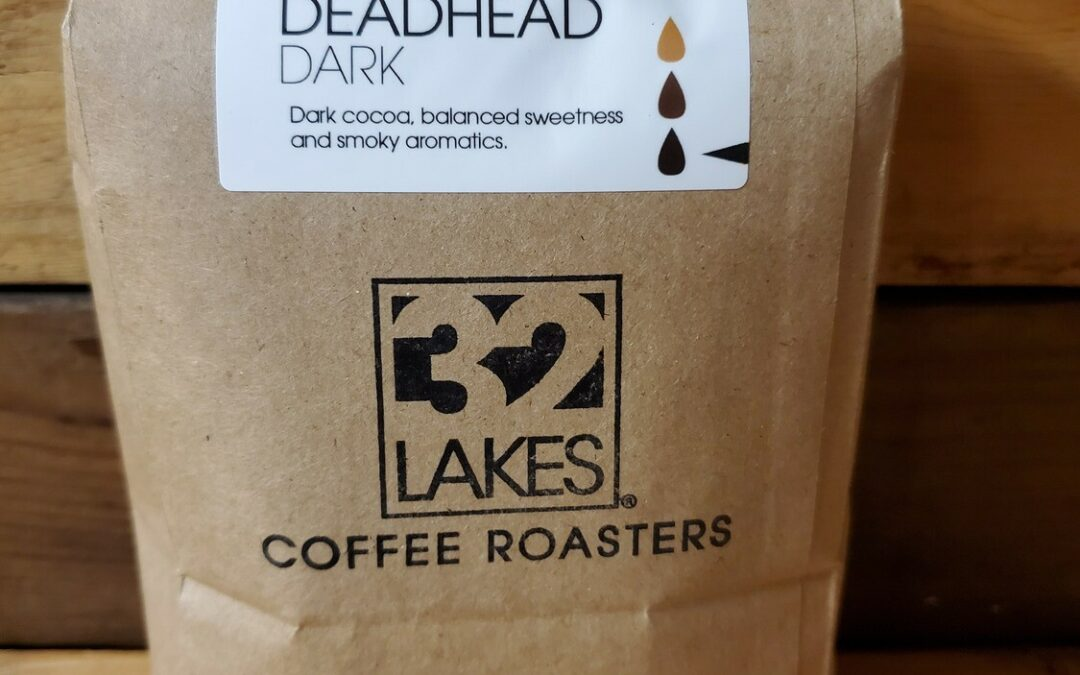 Coffee Beans in Brown Paper Bags